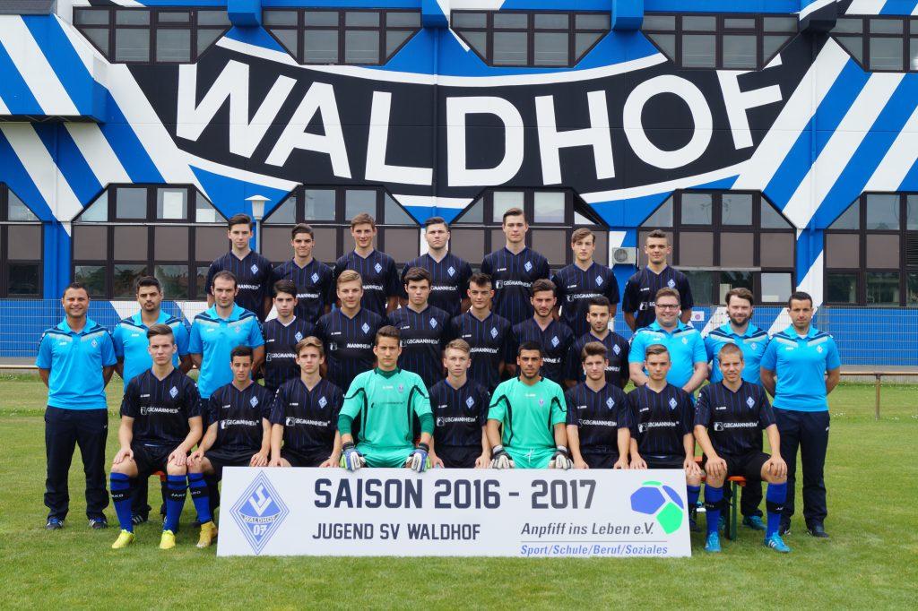 waldhof-mannheim-jugend-U19-mannschaftsfoto
